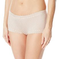 Maidenform Women's Dream Boyshort Panty, Shell Winter White