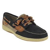 Sperry Top-Sider Women's Ivyfish Boat Shoe, Linen/Oat, 7.5 M