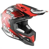 Just 1 J12 Mister X MX/Offroad Helmet Red/Black XL
