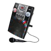 GPX J182B Portable Karaoke Player