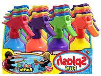 Ja-Ru Splash Fun Squirt' N Bottle Party Favor Bundle Pack
