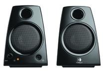 Logitech 3.5mm Jack Compact Laptop Speakers, Black