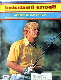 Jack Nicklaus Signed Golf March 8,1971 Sports Illustrated