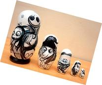 """Russian nesting Doll """"The Nightmare before Christmas"""" Jack"""