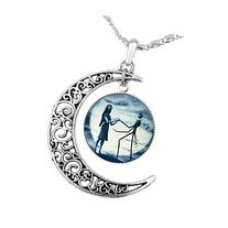 Jack Skellington Necklace Pendant Gift, Jack and Sally
