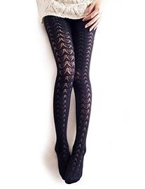 Vero Monte Women's Opaque Knitted Tights for Fall Winter