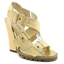 Michael Antonio Women's Jacquee Dress Sandal, Natural, 8.5 M