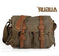 "Econoled Men's Trendy ""Colonial"" Italian Style Messenger Bag"