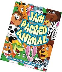 Jam Packed Animal Fun Coloring Book For Kids