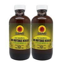 "Sunny Isle Jamaican Black Castor Oil 4oz ""Pack of 2"" w/"