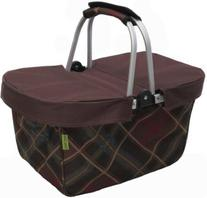 JanetBasket Brown Large Basket Cover-Brown