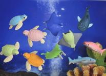 Iwako Japanese Erasers - Sea Animals