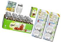 Jar Drinking Glasses Bundle = Ball Regular Mouth Pint Jars