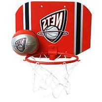 NBA New Jersey Nets Slam Dunk Softee Hoop Set