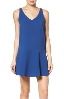 Women's Bb Dakota Jarvis Drop Waist Dress, Size X-Small -