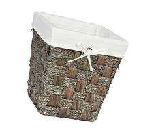 Creative Bath Products Java Collection Waste Basket, Gray