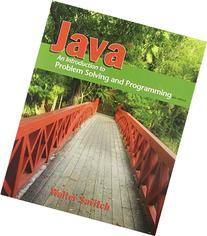 Java Introduction to Problem Solving and Programming  &