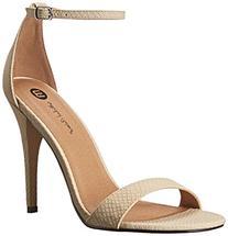 Michael Antonio Women's Jaxine REP1 Dress Sandal, Natural, 8