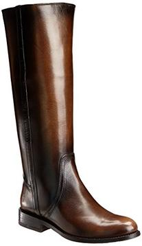 FRYE Women's Jayden Pull-On Riding Boot, Fawn, 6 M US