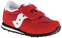 Saucony Jazz Hook and Loop Sneaker ,Red/White,11 M US Little