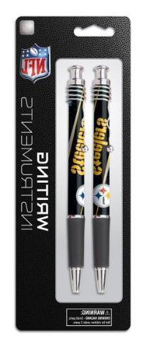 Pittsburgh Steelers 2 Pack Jazz Pen on Blistercard, Team