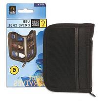 Case Logic JDS-6 USB Drive Shuttle 6-Capacity-Black