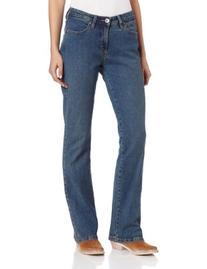 Wrangler Women's Aura Instantly Slimming Jean,  Tinted Mid-