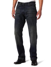Nautica Jeans Men's Relaxed Cross Hatch Jean, Rigger Blue,