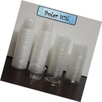 Polar Ice 125 Count Jello Shot Souffle Cups and Lids, 1-