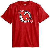 NHL New Jersey Devils Stand Out S/S Tee, Large, Red