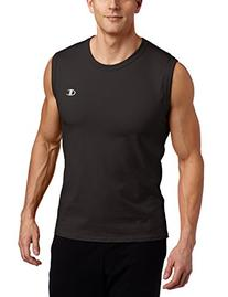Champion Men's Jersey Muscle T-Shirt,Black,XX-Large