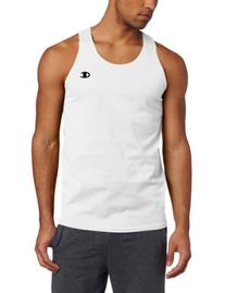 Champion Men's Jersey Tank, Navy, Medium