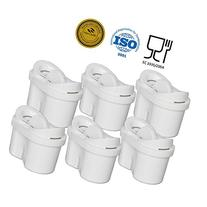 JFC001-6 PACK compatible Pitch Water Filter replacement for