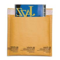 Sealed Air Jiffylite Brown Kraft CD Disc Air Bubble Mailers
