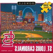 Jigsaw Puzzle - St Louis Cardinals 500 Pc By Dowdle Folk Art