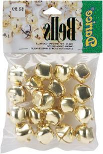 Jingle Bells 7/8-Inch, 18/Pkg, Gold
