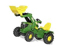 rolly toys John Deere Farmtrac Pedal Tractor with Working