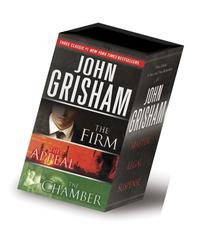 John Grisham 3-Copy Boxed Set: The Firm, The Appeal, The