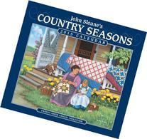 John Sloane's Country Seasons 2015 Deluxe Wall Calendar: