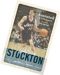 John Stockton Signed Assisted Book PSA/DNA Basketball Utah