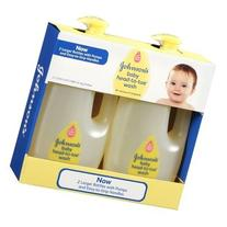Johnsons Baby Head to Toe Wash 2 X 33.8 Oz Bottles ** Larger