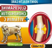 Extra Strength Chewable Joint Supplement For Dogs 120 Bacon