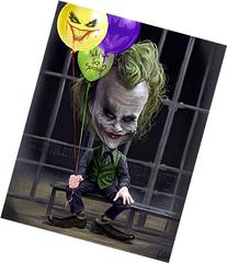 "Joker ""Why So Serious"" Caricature Limited Edition  Giclee on"