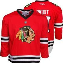 Jonathan Toews Chicago Blackhawks Red NHL Toddler Replica