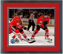 Jonathan Toews Patrick Kane Chicago Blackhawks Photo  Framed