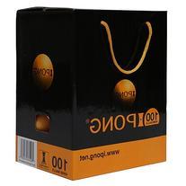 iPong Table Tennis Ball Set  - Orange