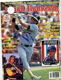 Jose Canseco Autographed/Signed Magazine Page
