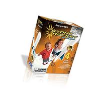 The Original Stomp Rocket: Jr. Glow in the Dark 4-Rocket Kit