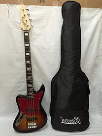 Jr Rn 3ts 4 String Bass Guitar New Sunburst