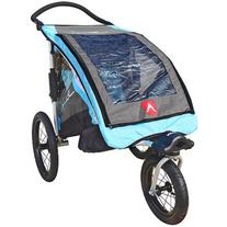 Allen Sports JTX1 Aluminum 1-Child Trailer/Swivel Wheel